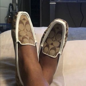 Coach loafers size 8 1/2